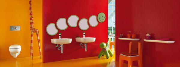 Ceramika łazienkowa dla najmłodszych