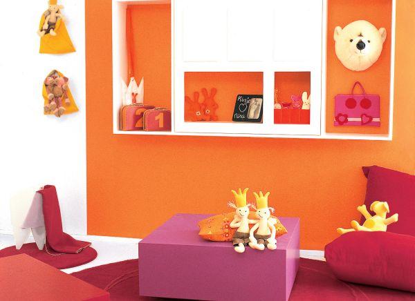 Jakie farby do pokoju dziecięcego?