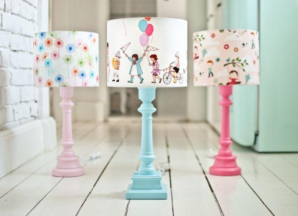 Kolorowe lampki do pokoju dziecięcego