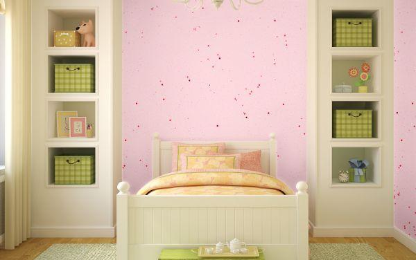 Modne i dekoracyjne ściany w pokoju dziecka