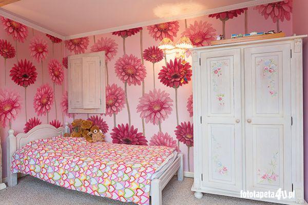 Fototapety do pokoju małej… ogrodniczki