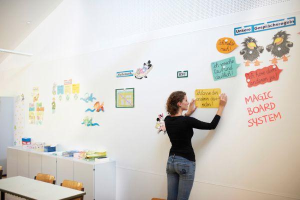 Magiczne ściany w pokoju dziecka