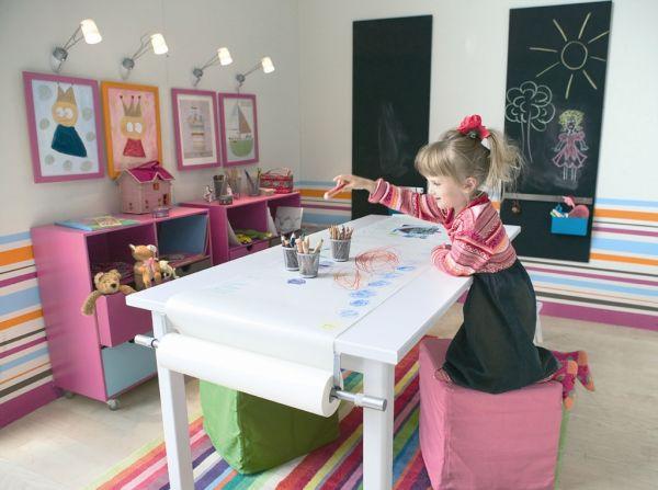 Czym pomalować ściany w dziecięcym pokoju?