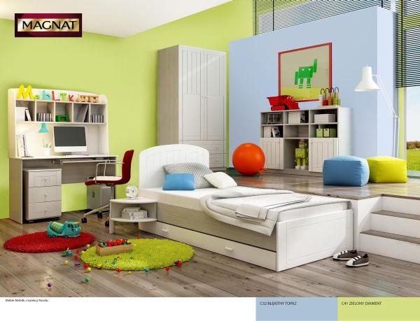 Kolory ścian w dziecięcych aranżacjach