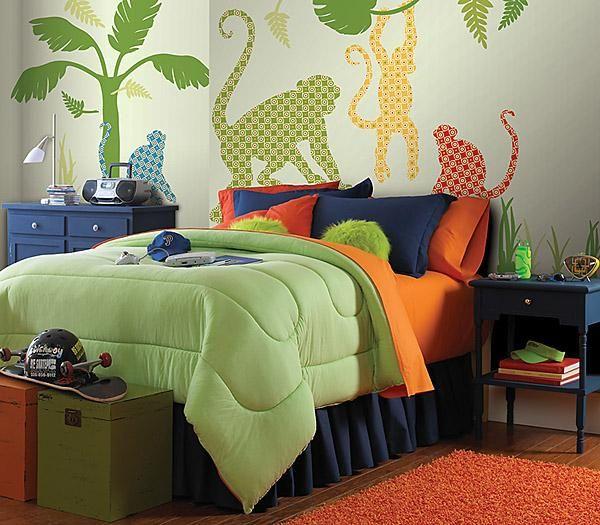 Pokój małego globtrotera