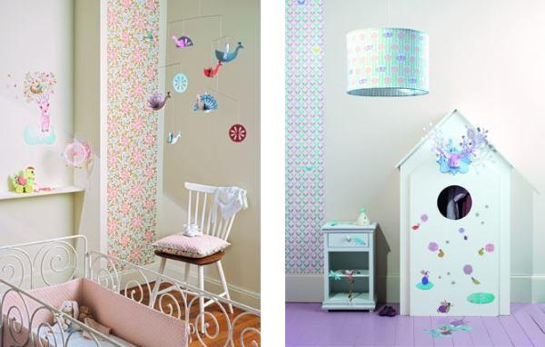 Kolorowe panele: pomysł na ściany w dziecięcym pokoju