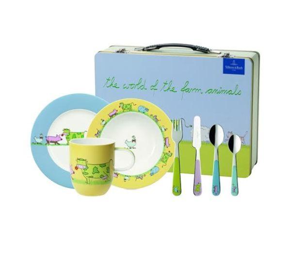 Porcelana dla dzieci – zestaw dla młodej damy i młodego gentlmana