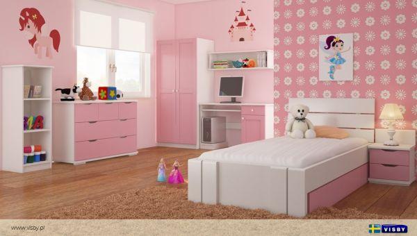 Kolorowe meble do pokoju dziecięcego czy to dobry pomysł?