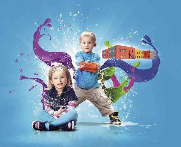 Kolorowa fasada przedszkola – akcja specjalna